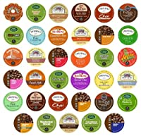 Brewing Something Good Unique 35-Count Variety Pack, Single-Cup Portion Pack Sampler for Keurig K-Cup Brewers from Brewing Something Good