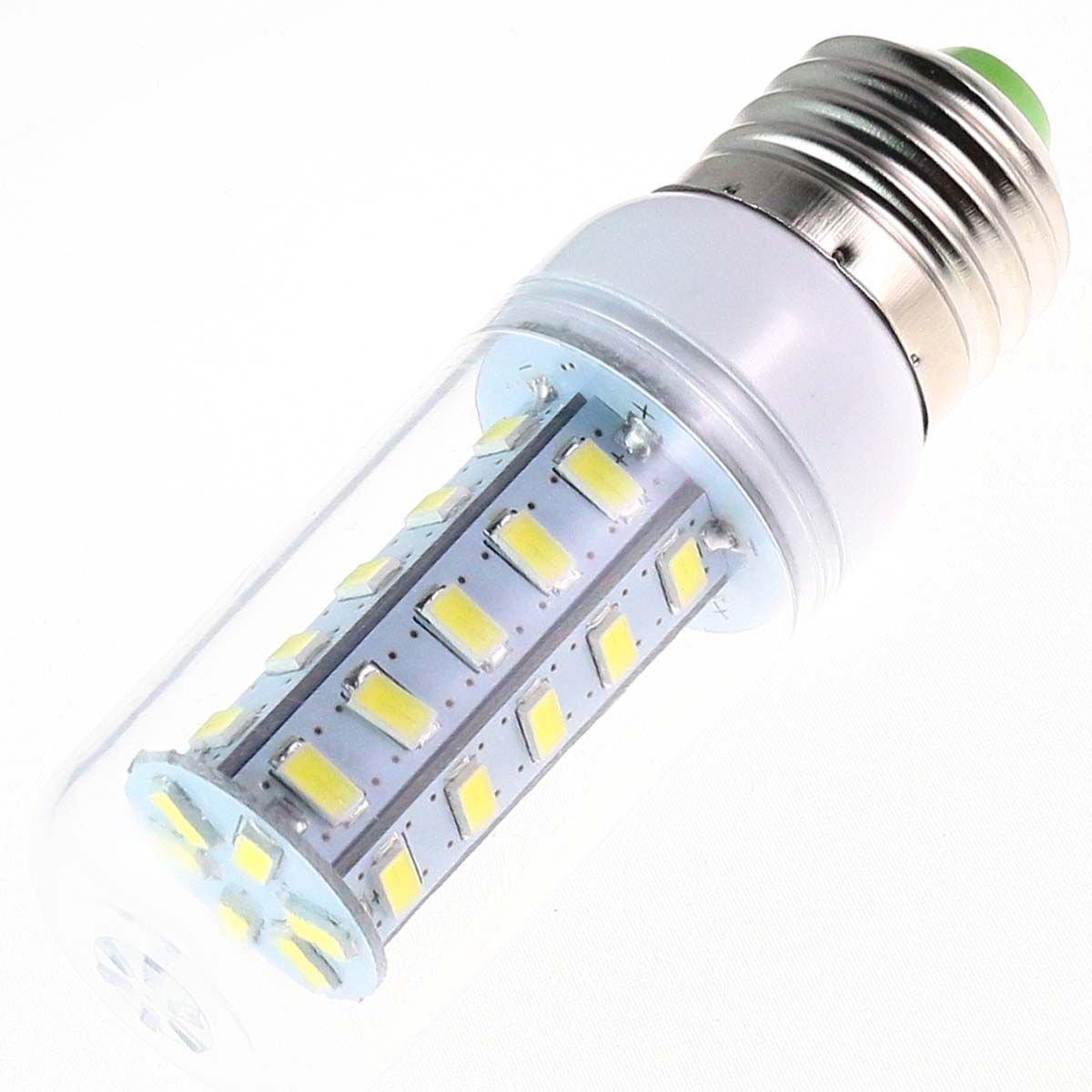 YARUIE E27 7W 630-Lumen 36 SMD 5630 LED Del Maíz Energía Lámpara Bombilla Luz Alta Potencia Con Tapa Para Limpiar El Blanco Puro AC 220-240V   Comentarios de clientes y más información