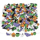 500 Fabulous Foam Halloween Bead Assortment - Art & Craft Supplies & Kids' Beading Supplies