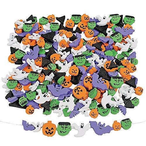 500-Fabulous-Foam-Halloween-Bead-Assortment-Art-Craft-Supplies-Kids-Beading-Supplies