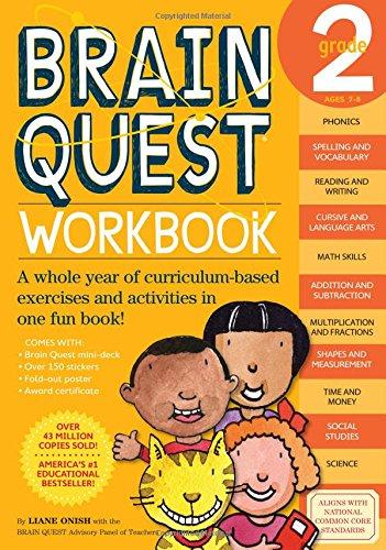 Brain Quest Workbook, Grade 2 (The Quest Workbook compare prices)