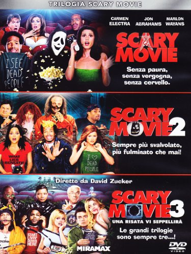 Trilogia Scary Movie (3 DVD)