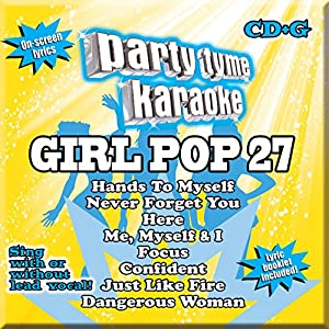 Party Tyme Karaoke - Girl Pop 27 [8+8-song CD+G]