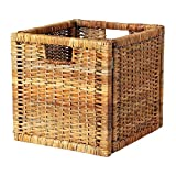 IKEA RATTAN LARGE BASKET SUITABLE FOR EXPEDIT BOOKCASE, STORAGE BASKET