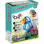 Click Block Click Whiz 3 D Nature Walk Set Premium Magnetic Construction Toy
