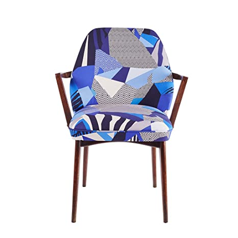 """Kitty McCall """"Matisse"""" Bench/Chair, Wood, Blue"""