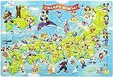 60ピース チャイルドパズル ミッキーと日本地図であそぼうよ!