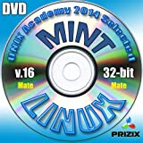 Mint Mate 16 Linux DVD 32-bit Full Installation Includes Complimentary UNIX Academy Evaluation Exam