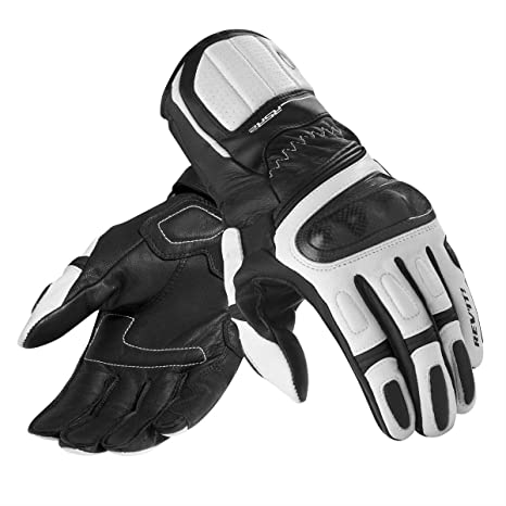 GLOVES RSR 2 BLACK WHITE SIZE XL