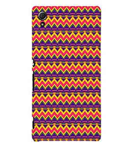 EPICCASE ethnic pattern Mobile Back Case Cover For Sony Xperia Z4 Mini / Z4 Compact (Designer Case)