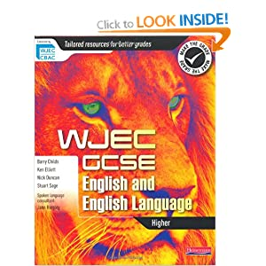 wjec english language and literature coursework