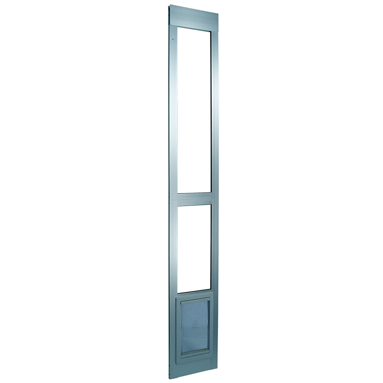 Ideal pet products 80 inch modular patio door medium mill for Ideal dog door