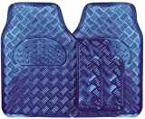 Streetwize SWUXM2 Checker Plate Mat Sets - Blue