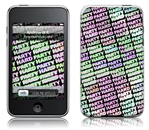 Music Skins iPod Touch 8GB (第2世代) / 32GB 64GB (第3世代) 用フィルム  Andrew WK - Party Hard Multi Color  iPod Touch 8GB (第2世代) / 32GB 64GB (第3世代)   MSRKIPT20211