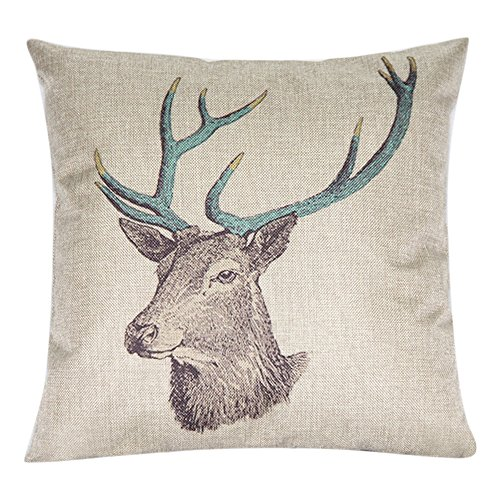bluelansr-deer-square-throw-pillow-case-decorative-cushion-cover-pillowcase-17-x-17-17-x-17-14
