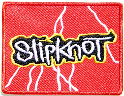 Slipknot Band Logo Badge Sign Patch Sew Iron on Embroidery Applique Costume (New Slipknot Masks For Sale)
