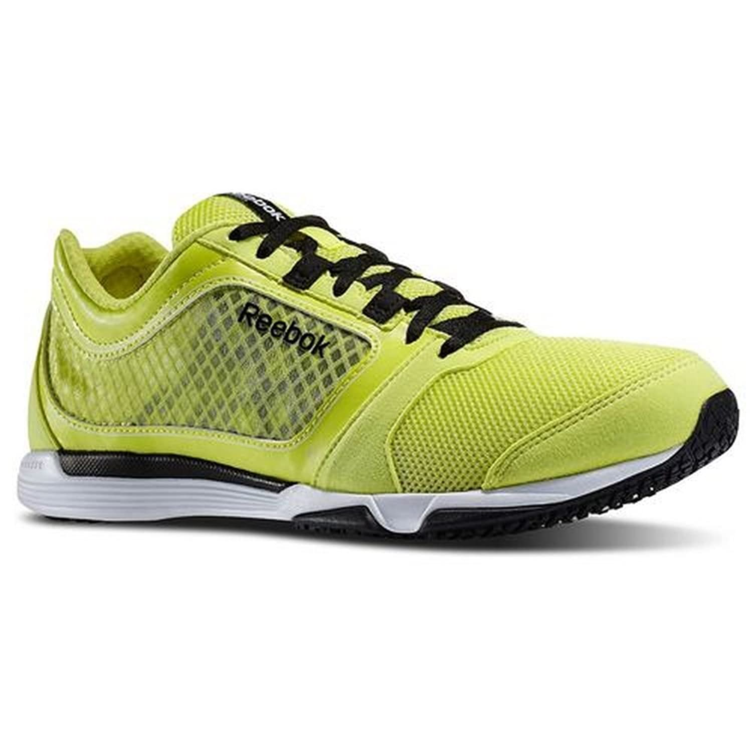Images for Reebok Mens Sublite Sprint Tr Fitness & Training Shoe in High  Vis Green / Black / Chalk Size 7.5