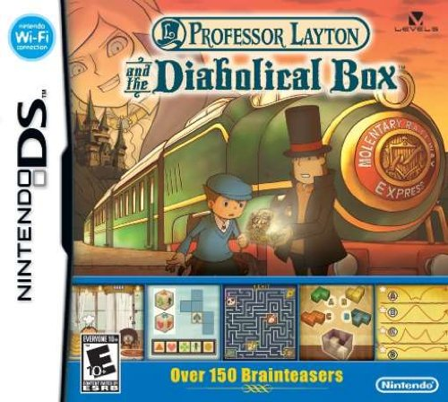 New Professor Layton & The Diabolical Box Action / Adventure (Video Game) - Video Game (Diabolical Box compare prices)