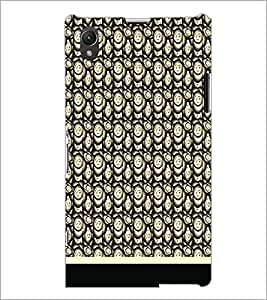 PrintDhaba Pattern D-1826 Back Case Cover for SONY XPERIA Z1 (Multi-Coloured)