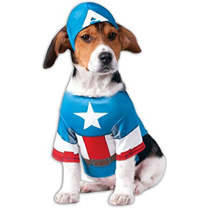 Captain America Costumes for Dogs