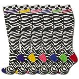 Sports Katz Zebra Socks - © 2009 Sports Katz Media, Inc.