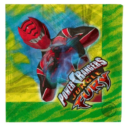 Power Rangers 'Jungle Fury' Lunch Napkins (16ct) - 1