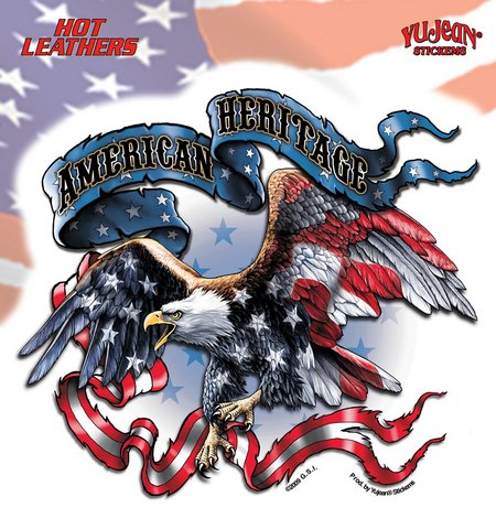 Hot Leathers - American Heritage - Sticker / Decal