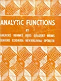 img - for Analytic Functions. Princeton Mathematical Series No. 24 book / textbook / text book