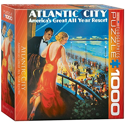 Atlantic City Puzzle, 1000-Piece