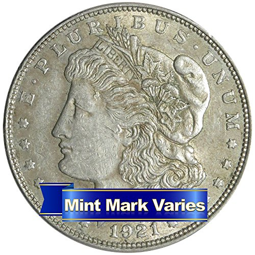 1921 Morgan P,D Or S $1 Morgan Silver Dollar (Very Good - Extra Fine) (Vg-Xf)