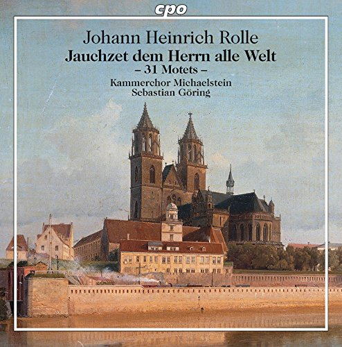 CD : ROLLE / GOERING / MICHAELSTEIN CHAMBER CHOIR - Motets (2 Discos)