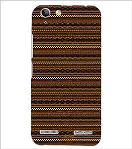 PrintDhaba Tribal pattern D-1875 Back Case Cover for LENOVO VIBE K5 (Multi-Coloured)
