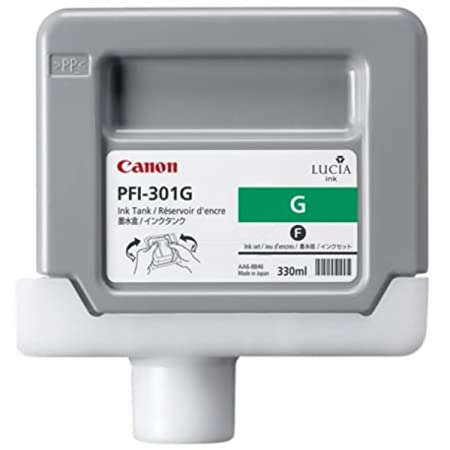 Canon Imageprograf IPF 9000 (PFI-301 G / 1493 B 001) - original - Ink cartridge green - 330ml