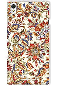 IndiaRangDe Hard Back Cover FOR Sony Xperia T3