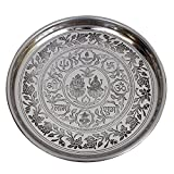 Craft Art India decorative Thali / Plate for Pooja / Puja / Worship