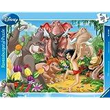 Ravensburger 06398 - Puzzle del Libro della giungla, Mowgli e Baloo, 30-48 pezzi