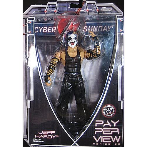 com: WWE Wrestling PPV Pay Per View Series 20 Action Figure Jeff Hardy