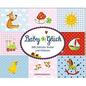 Stickerbuch - BabyGlück: 300 fröhliche Sticker und Etiketten