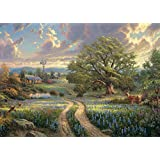 Schmidt Spiele 58461 Jigsaw Puzzle 1000 Pieces Country Living by Thomas Kinkade