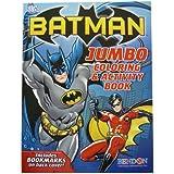 Batman Jumbo Coloring and Activity Book