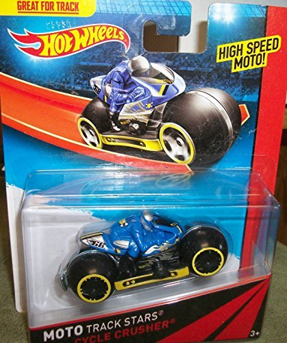 Hot Wheels Moto Track Stars CYCLE Crusher - 1