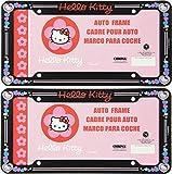 Hello Kitty Car Auto Truck SUV RV Pair of License Plate Frames