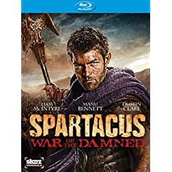 Spartacus: War of the Damned - The Complete Third Season [Blu-ray]
