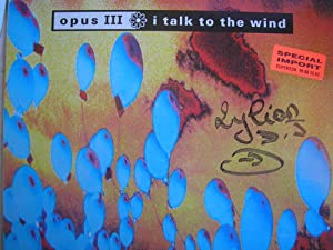I talk to the wind (Ext. Mix, 1992, plus 'Sea people')