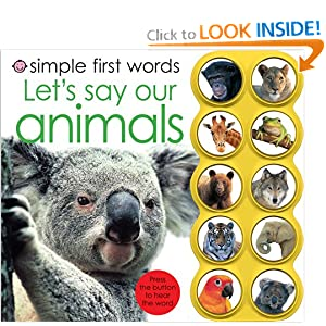 Download Simple First Words Let's Say Our Animals