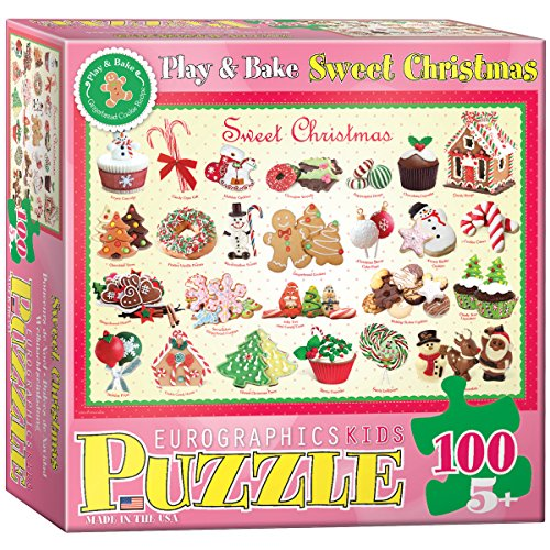 Sweet Christmas Puzzle, 100-Piece - 1