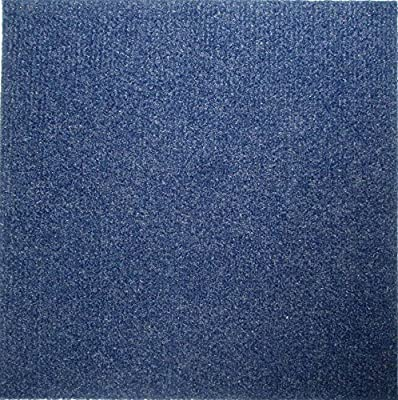 "Carpet Tiles Self Stick 12"" (72 Sq. Ft.) Blue"