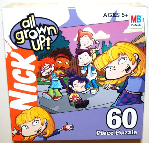Cheap Hasbro Nickelodeon Rugrats Gang, All Grown Up, 60 Piece Jigsaw Puzzle, Angelica and Friends (1 Each) (B00281RFLQ)