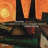 Dohnányi : Intégrale de la musique pour piano seul, vol. 3. Roscoe.