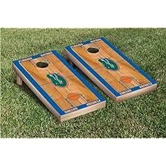 Florida UF Gators Cornhole Bag Toss Game Set Basketball Version by Gameday Cornhole